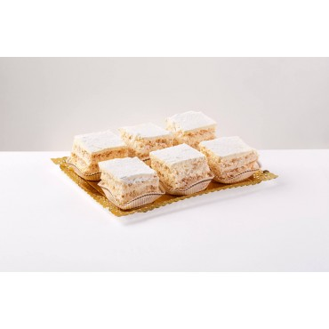 6 pasteles rusos