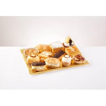 12 pasteles variados